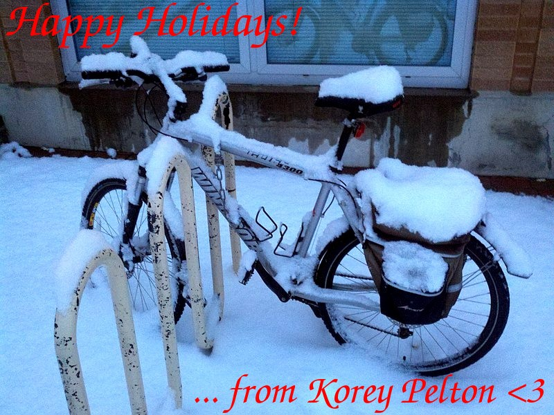 Happy holidays from Korey Pelton