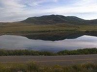 Hawkins Reservoir in the evening