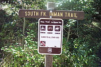 Inman trail sign